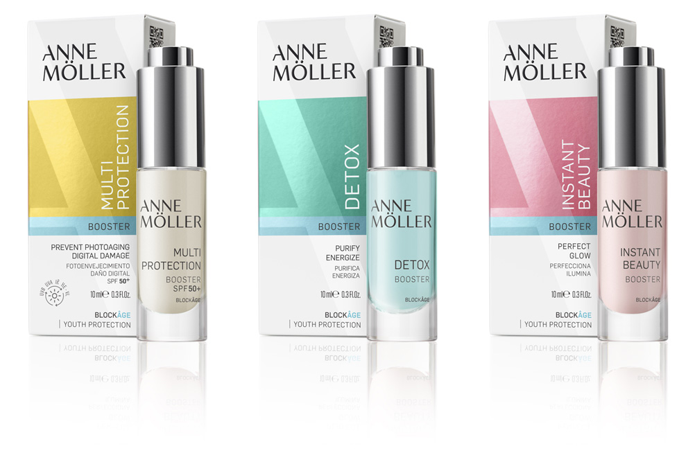 Anne Möller, cosmetic boosters