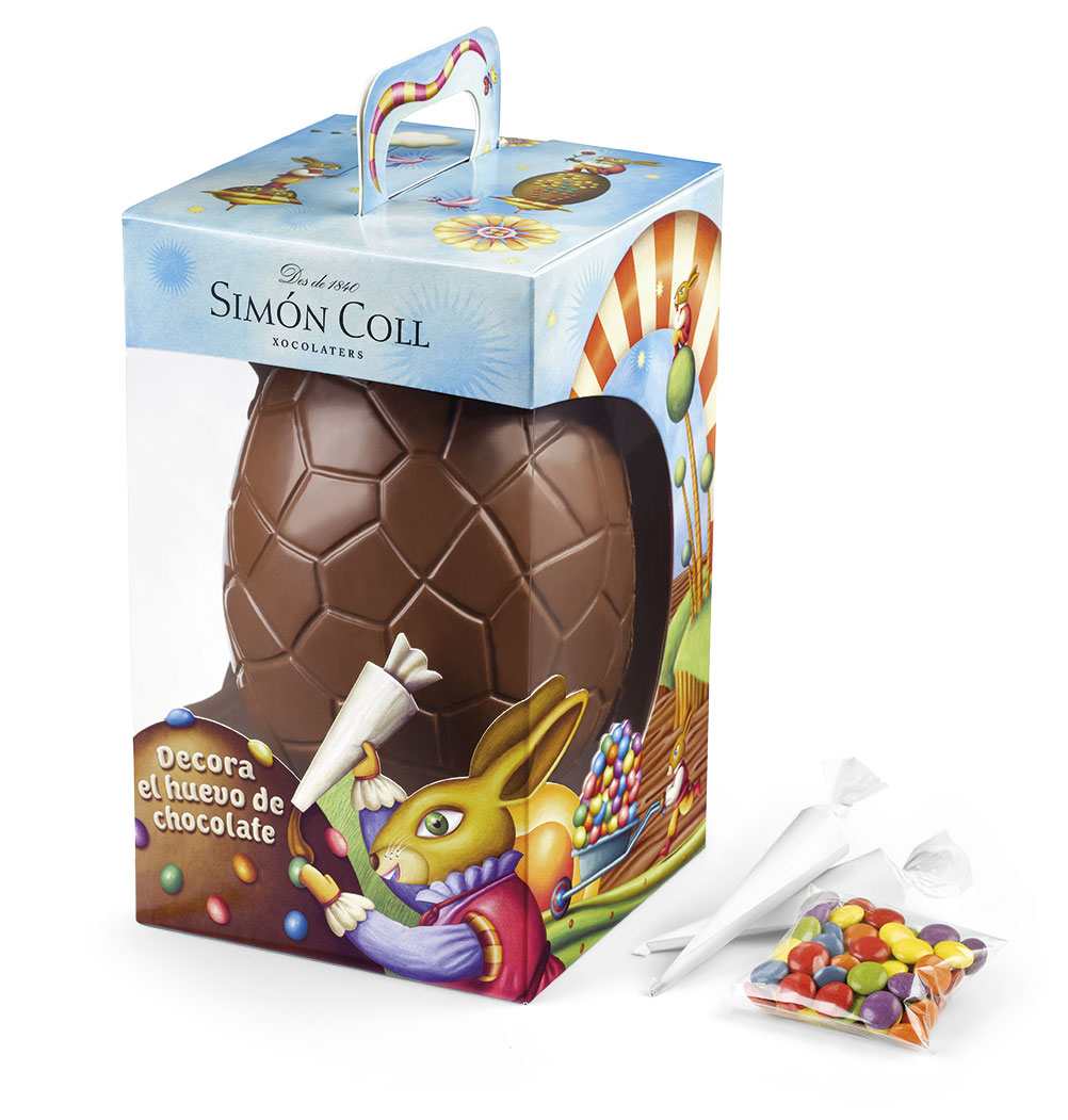 Easter Chocolates: Decorate the egg